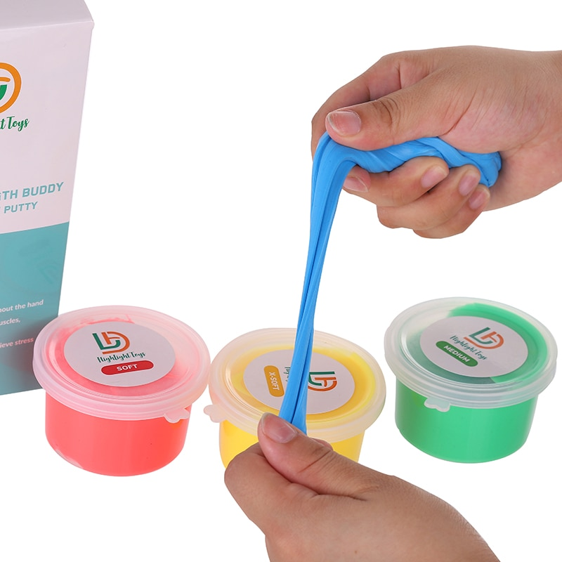 2020 Sale New Exercise Putty - Therapeutic, Occupational And Therapy Tool Thinking Stress Finger, Hand Grip Strength Exercises enlarge