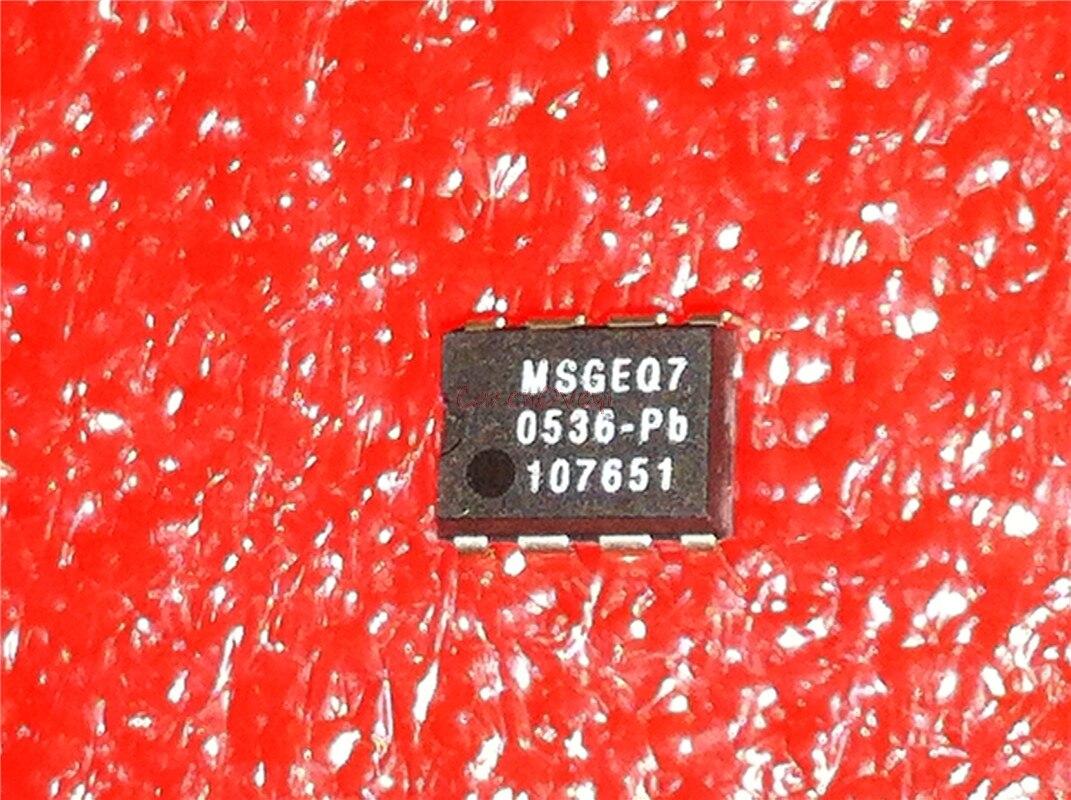 1 unids/lote MSGEQ7 DIP-8 banda ecualizador gráfico IC mezclado en Stock