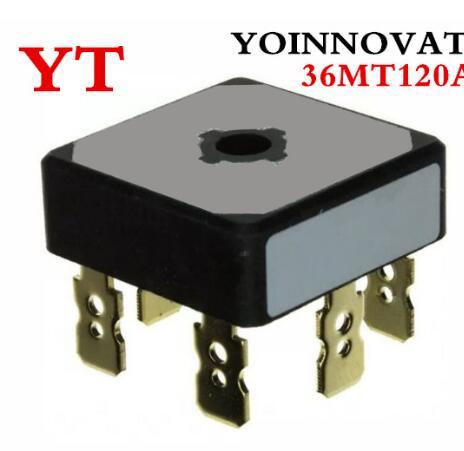 10pcs/lo 36MT120 36MT120 36MT120A 3-PHA RECT BRIDGE 1200V 35A D-63 Melhor qualidade