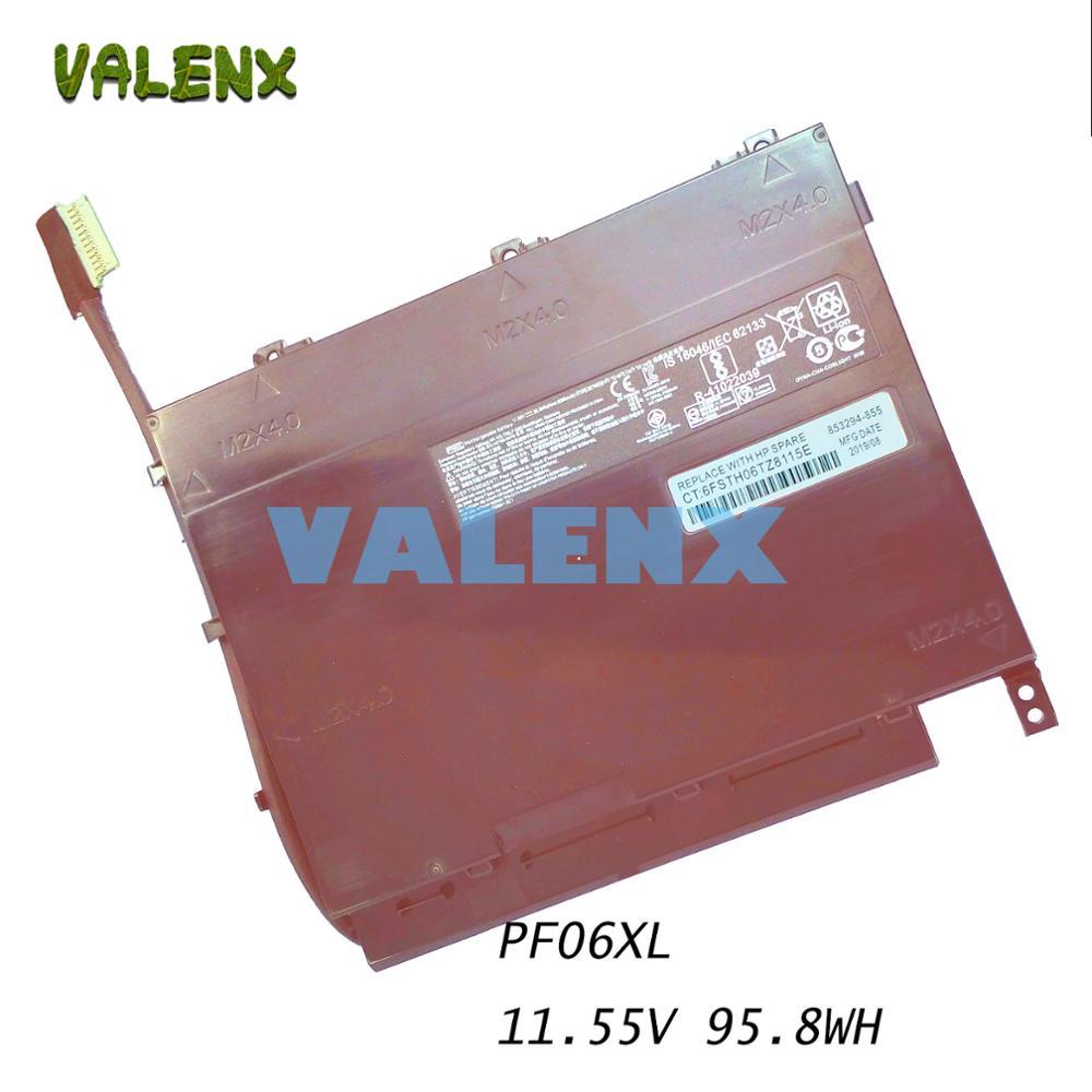 95.8Wh 8300mAh 11,55 V PF06XL nueva batería de ordenador portátil para HP Omen 17-w110ng HSTNN-DB7M 852801-2C1 853294-850 PF06 PFO6 PFO6XL