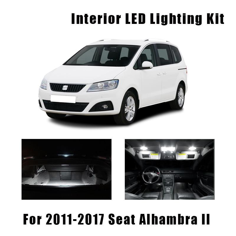 21 Uds blanco Canbus luces interiores LED Mapa de lámpara de techo...