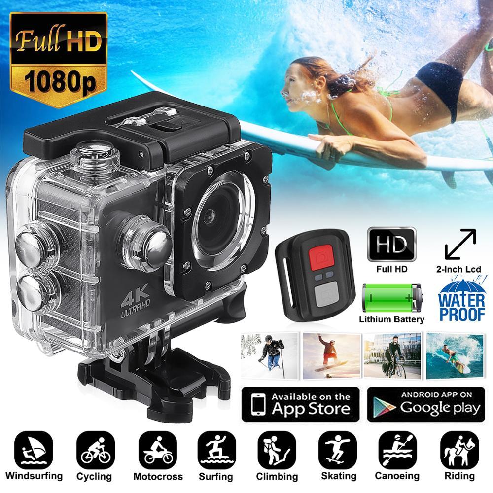 Moto Dvr SJ9000 Wifi 4K 1080P Sport Ultra HD caméra DVR DV caméscope 30M étanche casque caméscope Camara Deportiva