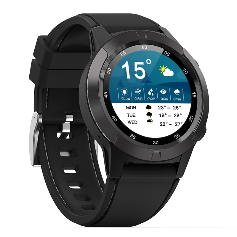 NORTH EDGE smart watch GPS Bluetooth compatible men's and women's IP67 waterproof heart rate blood pressure monitor sports watch enlarge