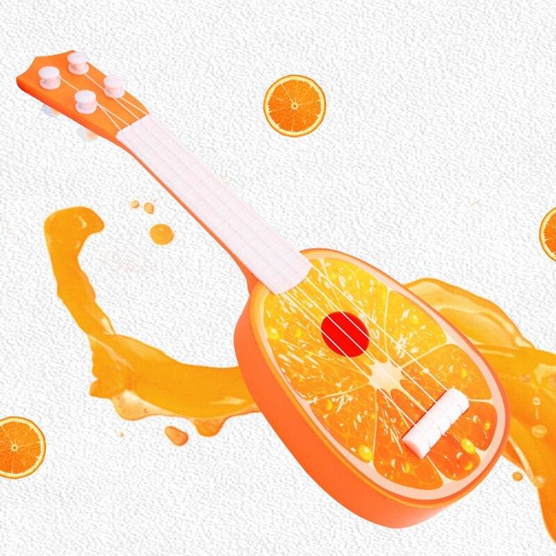 Children's Simulation Ukulele Fruit Toy Ukulele Children's Musical Instrument(2Pcs) enlarge