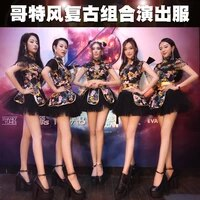 bar ds costumes nightclub dance clothes group cheerleading stage clothes cheerleading performance clothes rave outfit gogo 2020