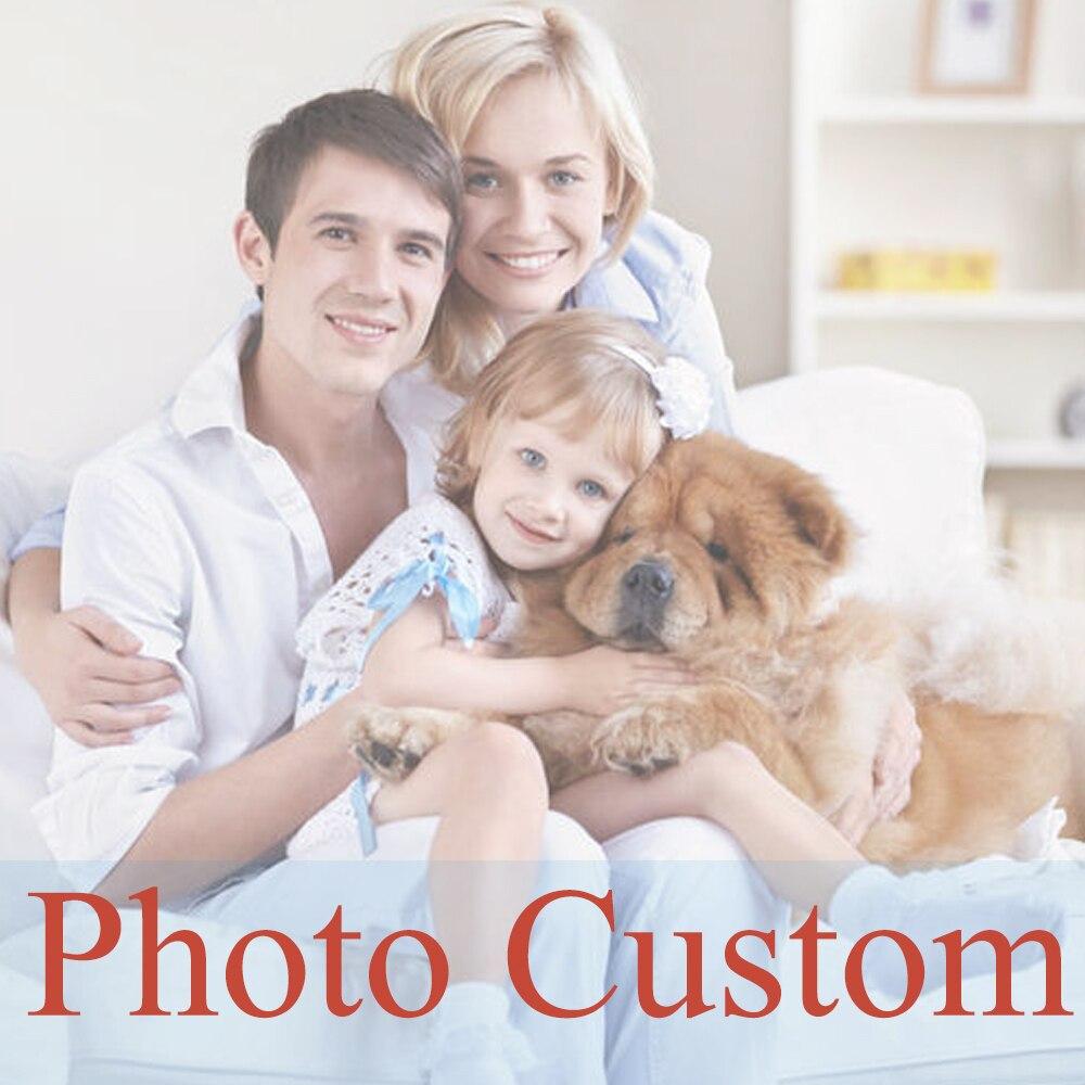 DIY Personalización de foto de pintura decorativo taladro Cruz puntada, imagen con mosaico para diamante regalo kits bordado