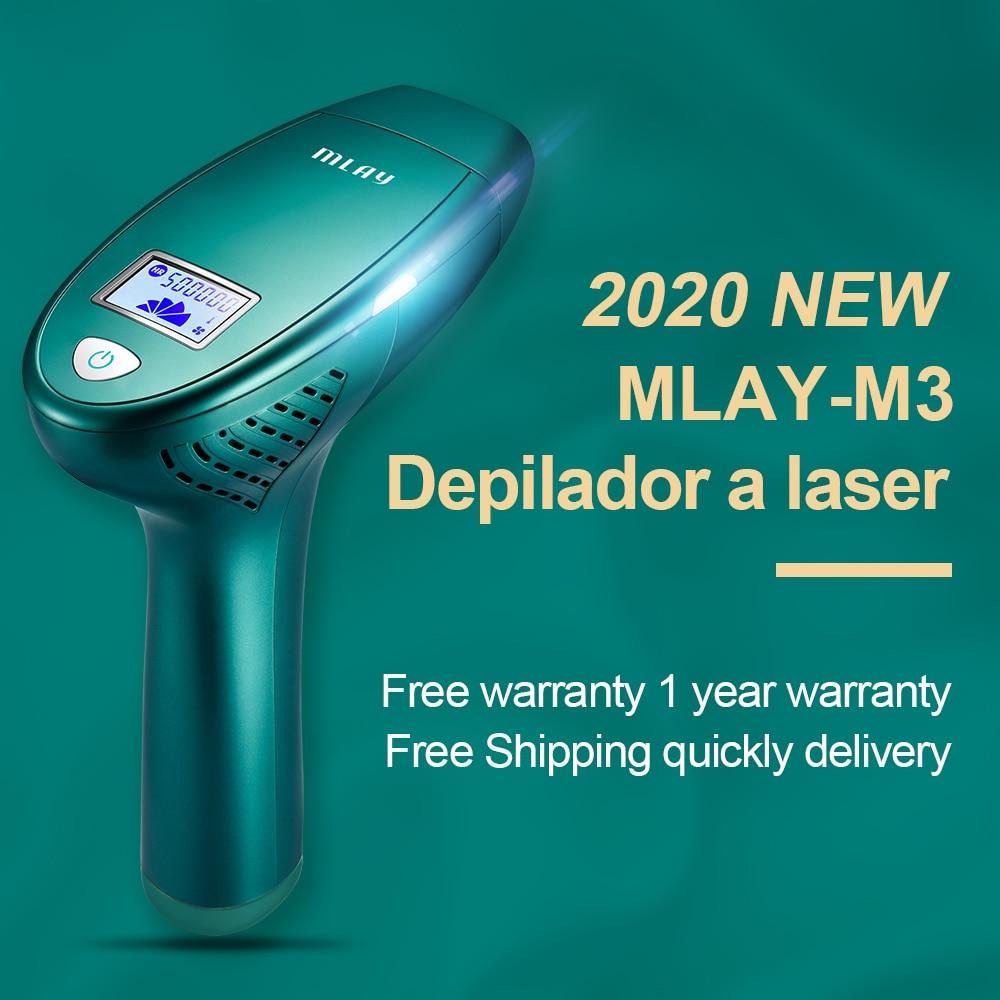 NEW MLAY M3 The latest version MLAY Laser Depilador a Laser IPL Hair Removal Machine Epilator Permanent Bikini Trimmer FDA enlarge