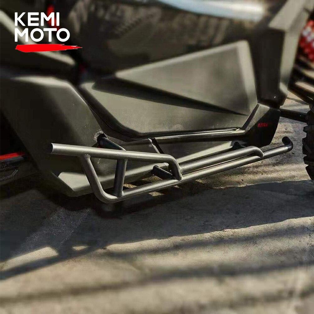 KEMIMOTO 2017 - 2021 puede-¿Maverick X3 Nerf bares Rock control deslizante para X3 900 HO Turbo STD R X DS RS DPS X RC Sr. Black.