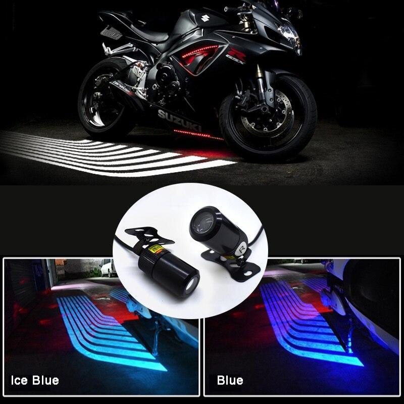 2 luces LED de proyección, luz de bienvenida para motocicleta, Ángel ala, chasis, luz para ASX Lancer L200 Pajero Outlander Eclipse Galant