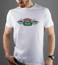 Friends Tv Series Central Perk Tee Unisex Friends Design Short Sleeve Tumblr Tee Unisex Men Women Tee Shirt
