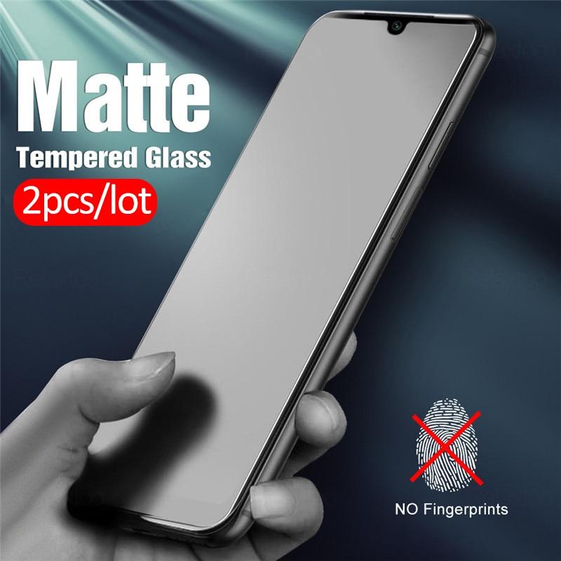 2pcs-frosted-matte-glass-for-xiaomi-mi-10-lite-9-light-xiomi-xaomi-a3-9t-pro-mi9-mi9t-8-se-mi10-tempered-glass-protective-film