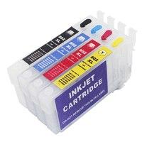 New item T3591-T3594 35XL T802XL T3561-T3564 Refillable Ink Cartridge For WF-4720 WF-4730 WF-4740 WF-4734 Printer NO chips