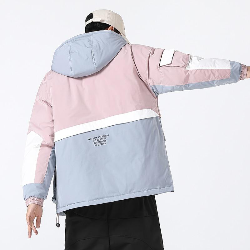 Good Quality Down Jackets And Coats Men Winter Coats Hooded Casual Jackets Warm Coats Parkas New Fashion Men Loose Down Jackets