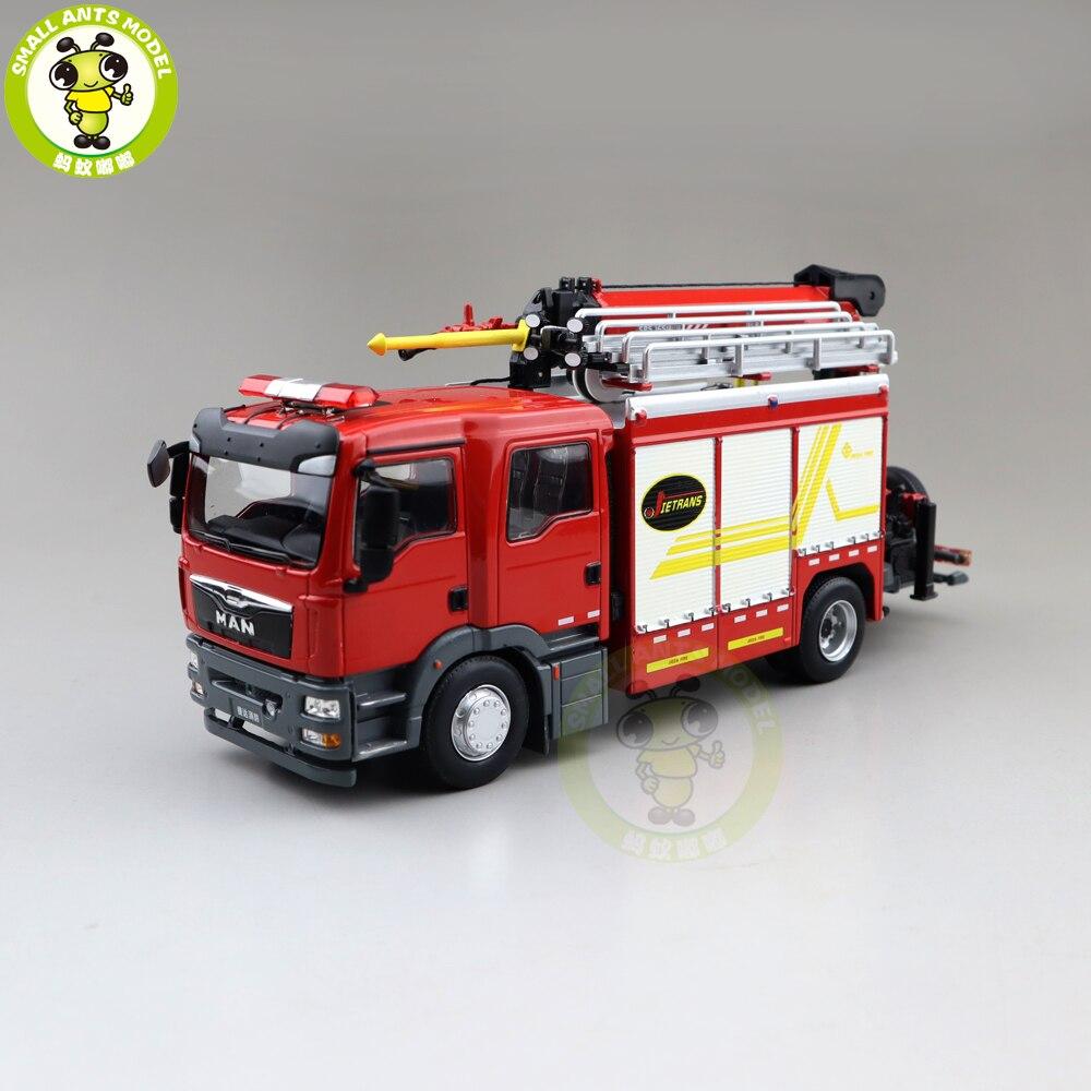 jieda 1 43 salvamento de incendio de emergencia grande modelo de brinquedos fundidos
