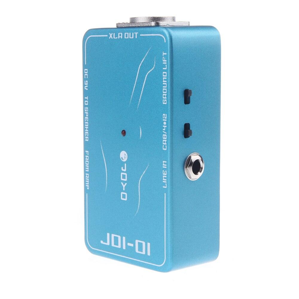 Pedal de efectos de guitarra de simulación de amplificador de caja pasiva directa JOYO JDI-01 DI Box