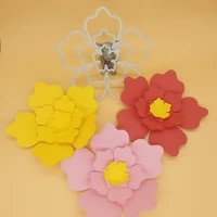 new large 3 in 1 flower metal cutting mold photo album cardboard diy gift card decoration embossing crafts