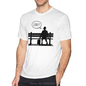 Forrest Gump T Shirt Forrest Gump T-Shirt Awesome Tee Shirt Man Summer Printed Short Sleeves Cotton Tshirt Streetwear