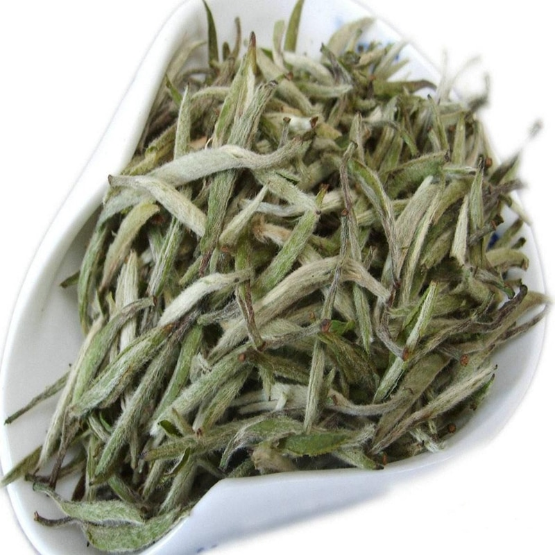 5A جودة عالية العضوية باي هاو يين تشن شاي أبيض باي هاو شاي أبيض بدبوس فضي شاي أبيض الغذاء الصينية الفضة إبرة الشاي هدية حزمة