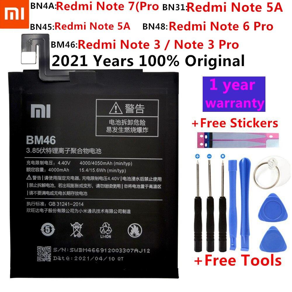 Xiaomi-Batería de repuesto Original para teléfono móvil Xiaomi Mi Redmi Note A1,...