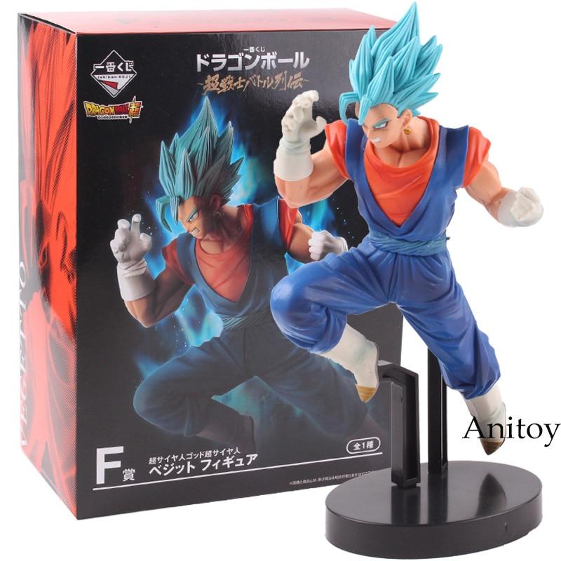 The Super Warriors Dragon Ball SUPER Saiyan Vegetto Blue PVC Anime Vegeta Action Figure Collectible Model Toy