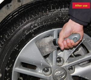Image 3 - Щетка для мойки автомобильных колес, инструмент для BMW 1 2 3 4 5 6 7 Series X1 X3 X4 X5 X6 E60 E90 F07 F09 F10