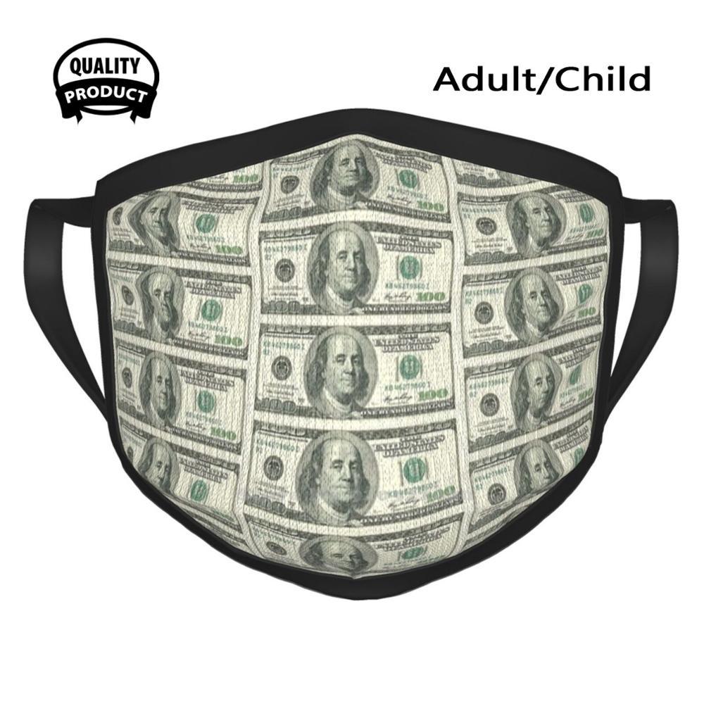 100 Dollar Bill Mouth Mask Soft Warm Face Masks 100 Dollar Bill Dollar Bill 100 Usd Usd Usa Money Us Money 100 Us United States