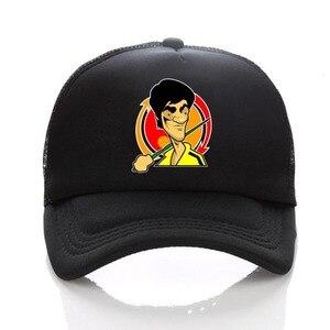 anime Chinese kung fu  Cosplay Adjustable women men Baseball Cap snapback Caps Cartoon Curved hat
