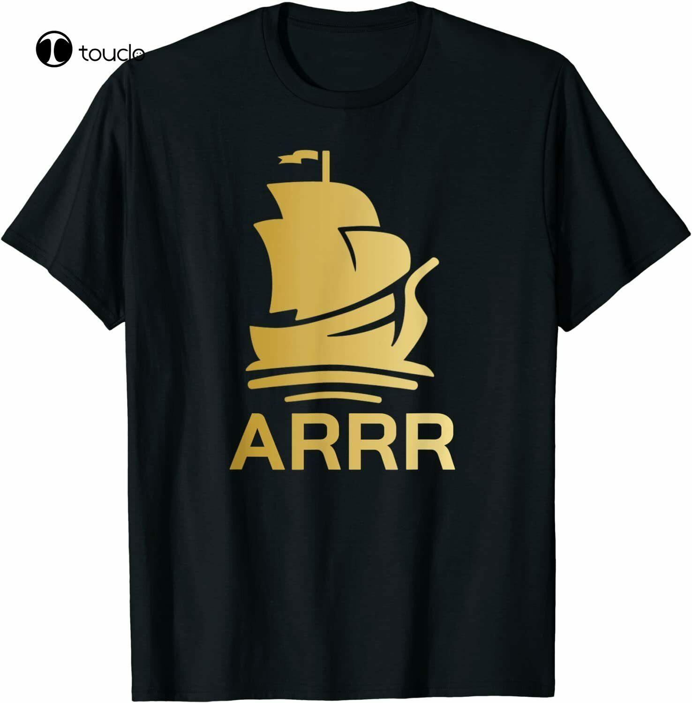 Pirate Ship Arrr Pirate Chain Altcoin T-Shirt Tee Shirt