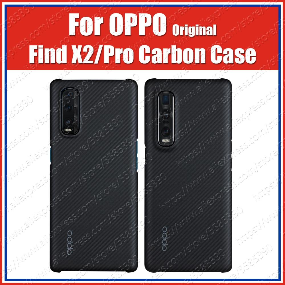 CPH2025 Carbon Fiber Ultra Thin Kevlar OPPO Find X2 Pro Case Original Find X2 Case Cover