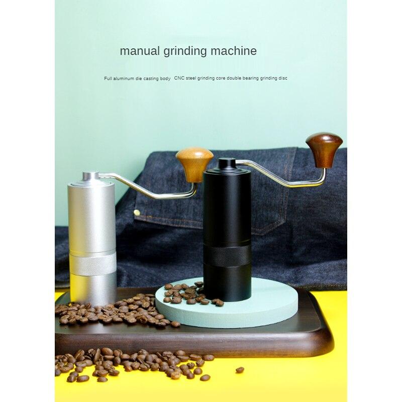 مطحنة ماكينة قهوة يدوية صغيرة محمولة 15 جرام