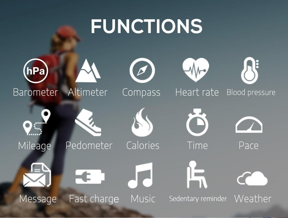 North Edge GPS Sports Watch Bluetooth Call Multi-Sport Mode enlarge