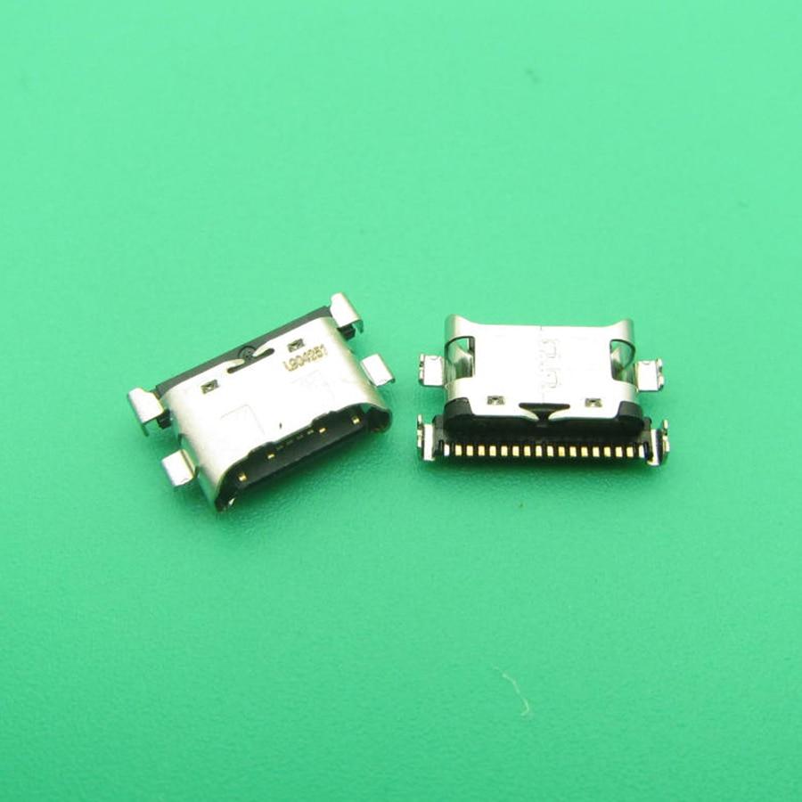 1 ładowarka ze złączem usb gniazdo typu jack dla Huawei MediaPad M5 Lite 10 BAH-AL00 BAH-W09 BAH-L09 wtyczka ładowania stacja dokująca do części zamienne