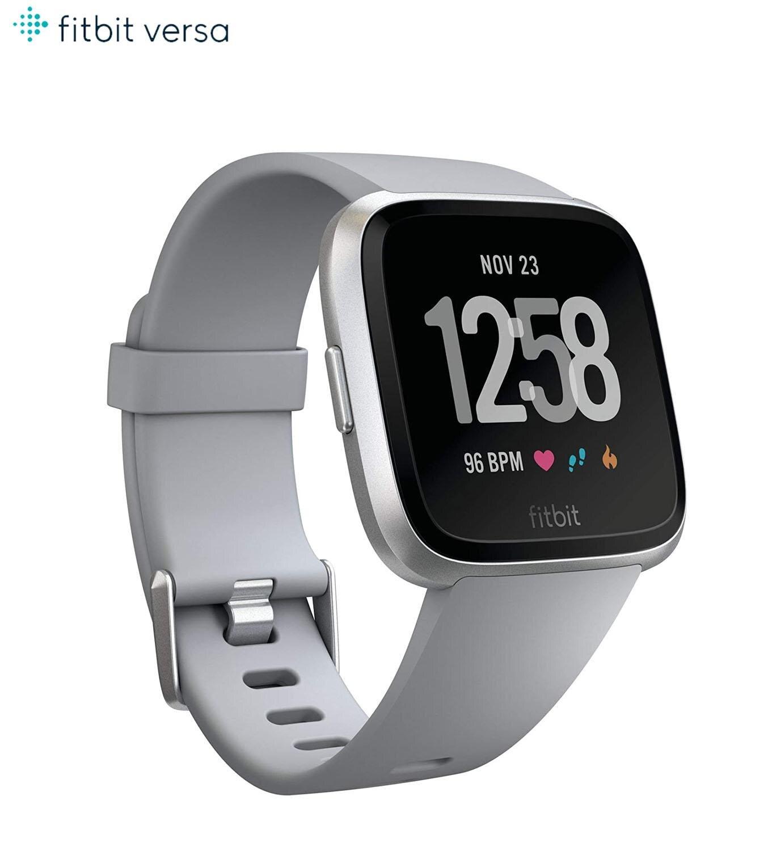 Fitbit-ساعة رياضية ذكية مع التحكم في معدل ضربات القلب وضغط الدم ، ساعة ذكية مع التحكم في معدل ضربات القلب والنوم والموسيقى