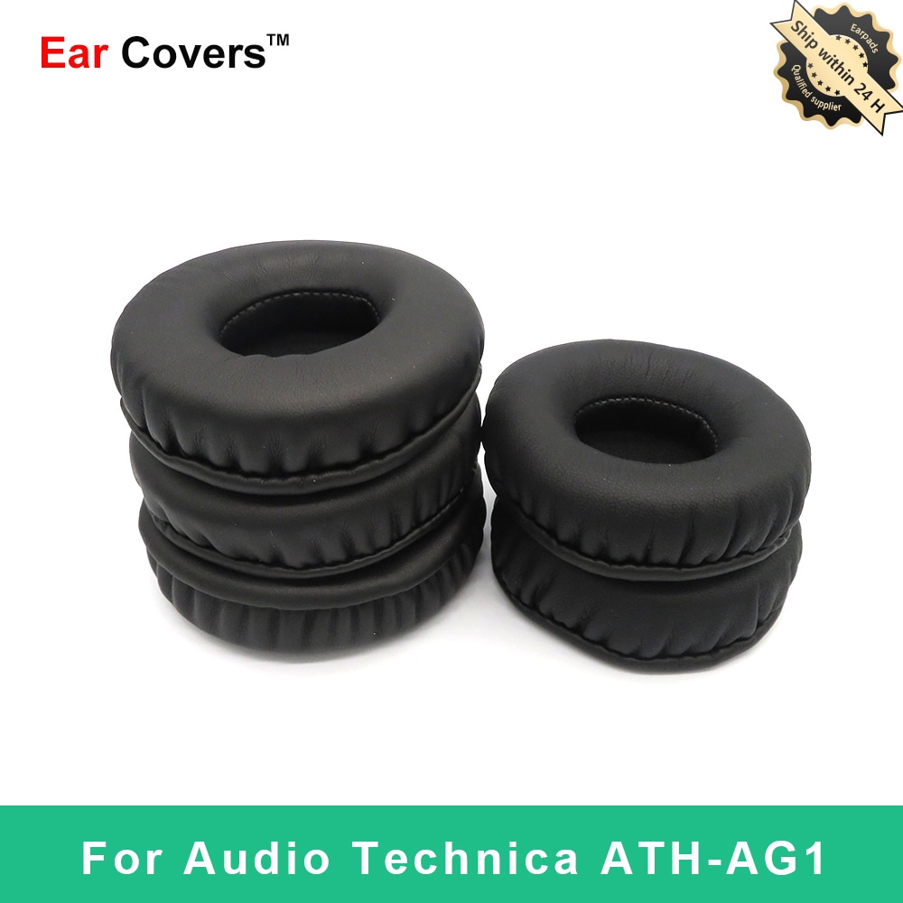 Ear Pads For Audio Technica ATH AG1 ATH-AG1 Headphone Earpads Replacement Headset Ear Pad PU Leather