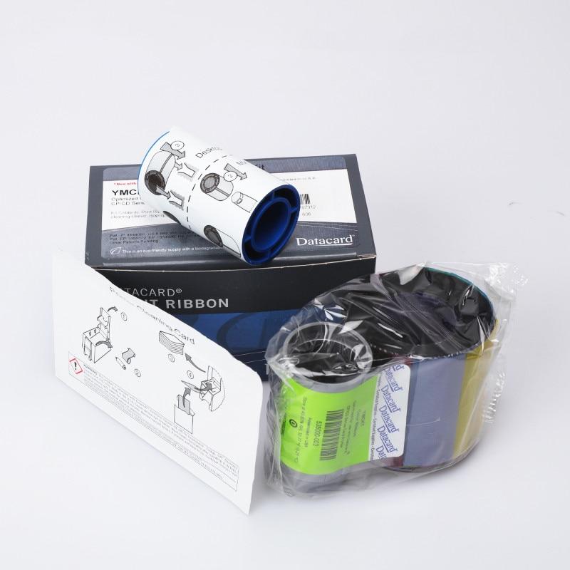 شريط طابعة 535000-003 ، YMCKT 500 ، لـ Datacard CP40 CP60 CP80 CD800 ، أصلي