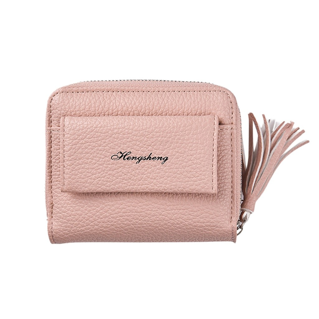 Women's Wallet Short Versatile Zipper Bag Casual Colorful Coin Purse Fashion Bag Woman Shoulder Pack