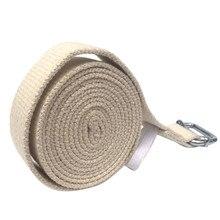 183CM Adjustable Fitness Yoga Resistance Bands Belt Ring Gym Waist Sport Yoga Stretch Strap Leg Fitness Belt Elastic Strap Rope