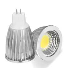 Nieuwe haute puissance Lampada Led MR16 COB 9 W 12 W 15 W Led Cob projecteur blanc froid MR 16 12 V GU5.3 /110V/ 220V