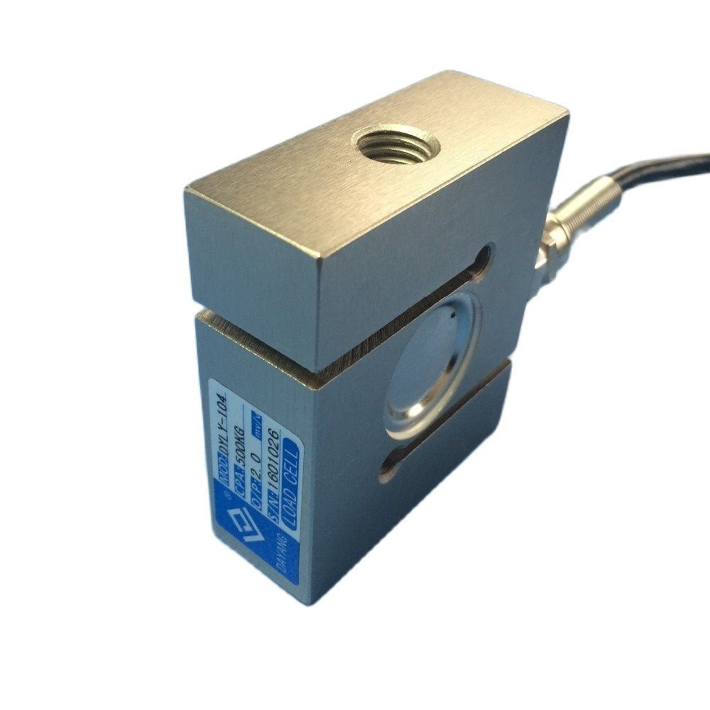 CALT S type load cell 300kg 500kg 1T 2T 5T Force Measuring Weight Sensor DYLY-104