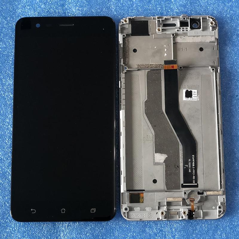 "5,5 ""Original OLED axiinternacional para ASUS ZenFone 3 Zoom ZE553KL Z01HDA LCD pantalla marco + Digitalizador de Panel táctil"