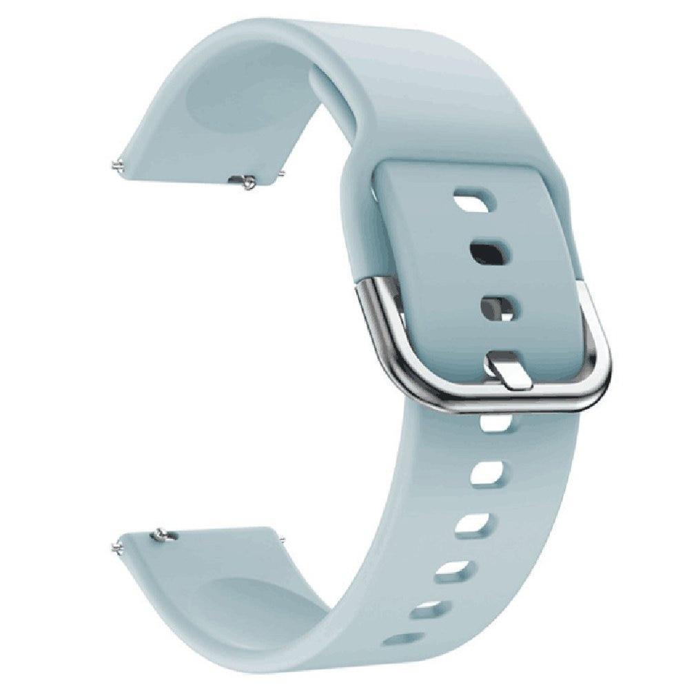 Correa de silicona para relojes hua-mi Youth Edition, correa de silicona monocromática de 20Mm para relojes Amazfit Bip, accesorios para reloj deportivo