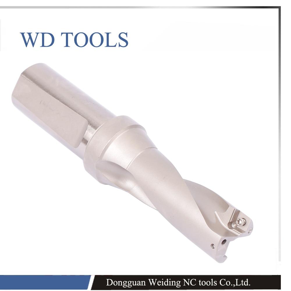 Taladro en U de la serie SP, herramientas de máquina CNC, taladros de diámetro 5d 14-45mm