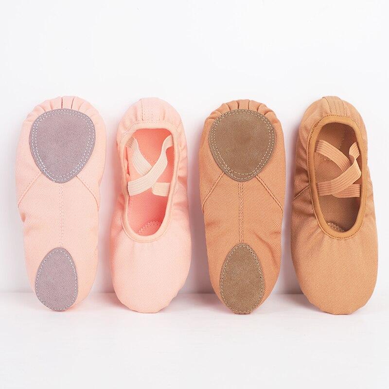 Zapatillas de deporte Zapatillas de baile para niña de zapatos de Ballet...