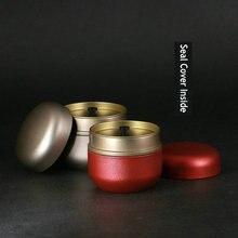 4 sztuk zaawansowane jednolite kolory słoiki metalowe słoik na cukierki pudełko na prezent ślubny podróży przenośne pojemnik na herbatę cukru kawy słoik z pokrywką