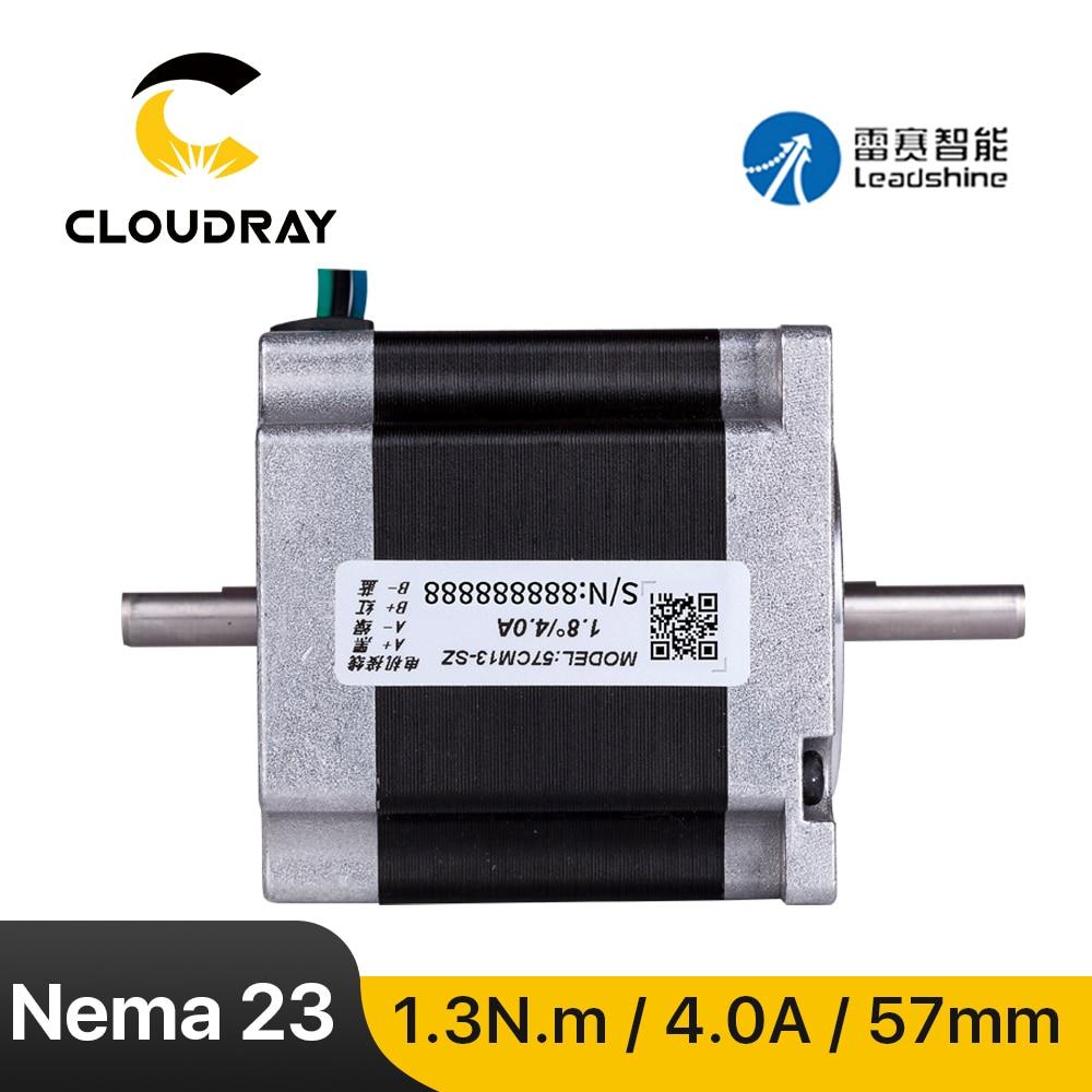 Leadshine نيما 23 محرك متدرج (57CM13-SZ) 4.0A 1.3N.m ثنائي المحور 2 المرحلة لنك راوتر آلة نقش بالحفر طابعة ثلاثية الأبعاد