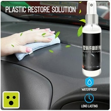 30ml Automotive Interior Plastic Parts Retreading Maintenance Agent Plastic Parts Wax Instrument Pan