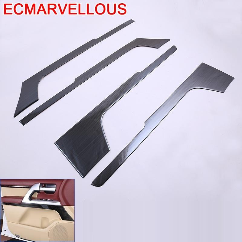 Oto Aksesuar Pegatina Coche Automotive Sticker Interior Car Accessories Auto Door Horn FOR Lexus LX Toyota Land Cruiser series