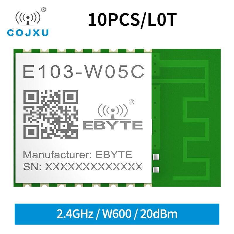 q118 rak439 low power tiny size high speed spi wifi module integrate tcp ip stack wireless iot module with external antenna 10x Small Size Wireless Wifi Module 20dBm W600 2.4GHz UART WIFI Digital Transmission Module with PCB Antenna E103-W05C ESP8266
