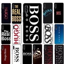 BOSS Silicon TPU Cover For Samsung S6 S7 Edge S8 S9 S10 S20 Plus S10E S10 S20 Lite S20 Ultra Case
