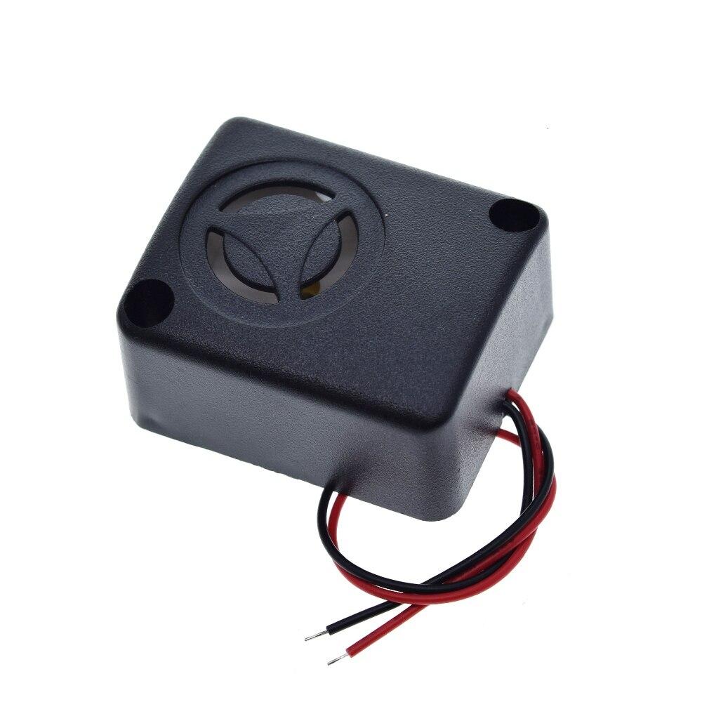 Противоугонная Автомобильная сигнализация 6/12/15 в 120 дБ активный высокодецибелный зуммер Сейф Противоугонная сигнализация автомобильные а...